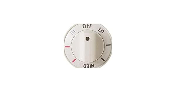 GE WB03T10169 Knob Inf Bisque
