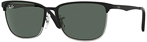 RAY BAN Sunglasses R J9535S 243/71 Top Matte Black On Silver - Ban R Ray
