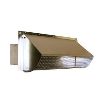 Metal Rectangular Wall Vent - Damper & Screen (RA 310S