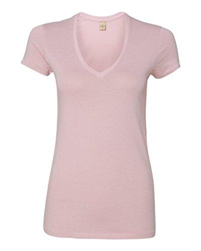 Alternative - Ladies' Karen Short Sleeve V-Neck T-Shirt - 4032 - Mauve - Medium