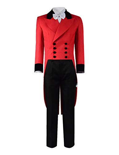 Greatest PT Barnum Cosplay Costume Performance Uniform Showman Party Suit (Custom-Made for Kid, New Performance Uniform)