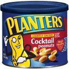 Planters Cocktail Peanuts Lightly Salted 12OZ (Pack of 24)