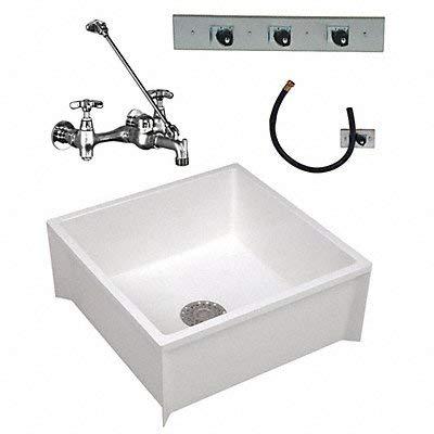 Mop Sink Kit 24 in L 24 in W 10 in H