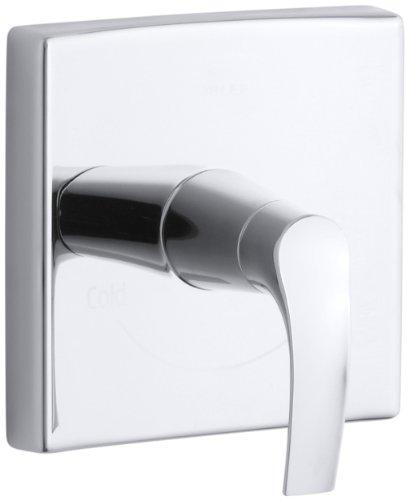 Chrome Symbol Tub (KOHLER K-T18090-4-CP Symbol Thermostatic Valve Trim, Polished Chrome)