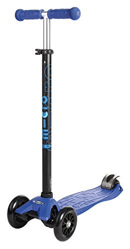 Micro Maxi Kick Scooter With T-Bar (Blue)