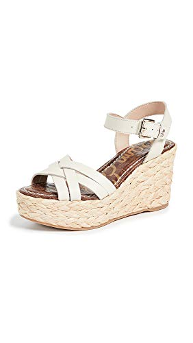 (Sam Edelman Women's Darline Espadrilles, Ivory, Off White, 7.5 M US)