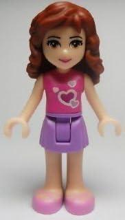 """New Lego Friends Olivia 2"""" Minifigure Loose"""