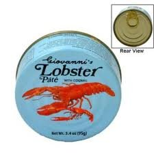 Lobster Pate (Giovannis) 3x95g/3x3.4oz Pack of 3