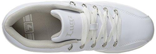 Lugz Mens Tempo Fashion Sneaker Bianco / Grigio