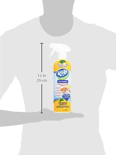 Rio - Detergente biológico para suelos y parqué para mascotas, 750 ml: Amazon.es: Salud y cuidado personal
