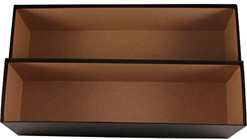 (PSA Graded Card Storage Holder Container - Black Box Holds 60 Graded Cards)