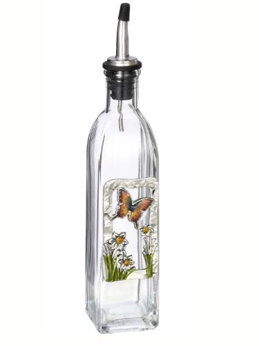 Decorated Olive Oil Bottle - 7