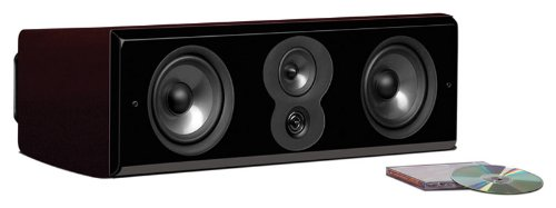 Polk Audio LSiM 706c Center Channel Speaker (Midnight Mahogany, Each)