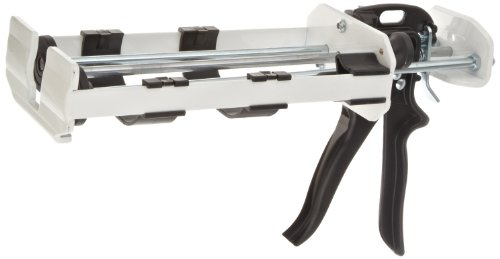 PC Products 993002 Steel Dispensing Caulking Gun, Large 600 ml, White - White Dispensing