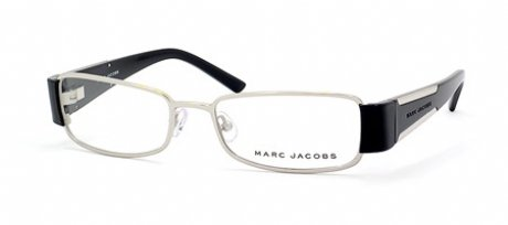 Marc Jacobs 132/u Eyeglasses (52/17/135, 0KCQ PALLADIUM BLACK) (Authentic Marc Jacobs Eyewear Sunglasses)