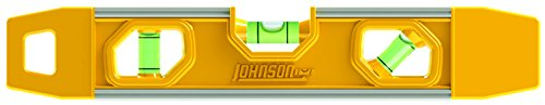 Johnson Level & Tool 8500M 9-Inch Magnetic Aluminum Torpedo Level