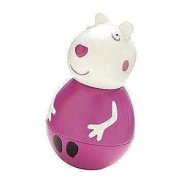 Pig Serie FiguraAmazon 3 Weeble Weebles Suzy Peppa Oveja es 2DH9IE