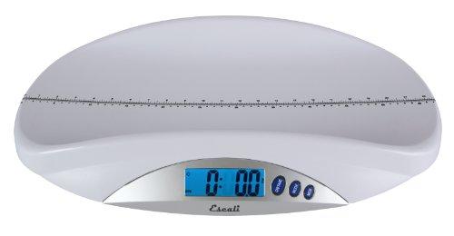 Escali BT20 Digital Infant Silver