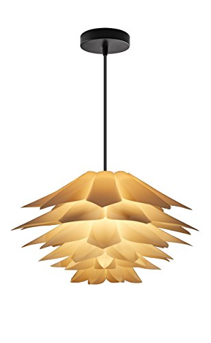 Cheap HuarspB5201702Simple Fashion Lotus Chandeliers for Corridors, Bedrooms, Dining-rooms, Sitting Rooms,Not Included Light Bulb,White