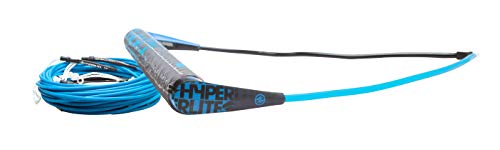 Hyperlite Team Handle with X-Line Rope for Waterski Boat Blue ML