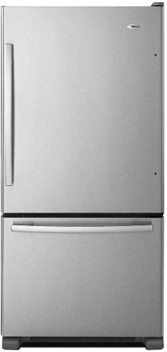 Amana ABB1924BRM 18.5 Cu. Ft. Stainless Steel Bottom Freezer Refrigerator - Energy Star