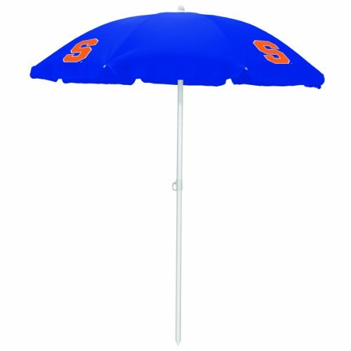 NCAA Syracuse Orange Portable Sunshade Umbrella by Picnic Time by PICNIC TIME