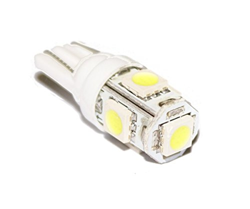 Dnf Light Bulbs (DNF 10 Pack LED 5050 SMD White Light Bulb Wedge W5W 192 Lot)