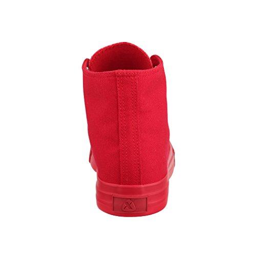 Scarpe 36 Elara Donna Sport Scarpe High Top Unisex Uomo Per nbsp; Sneakers Sneaker Tessile Hqqf7P