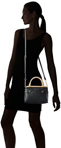 tommy hilfiger women s th novelty small tote shoulder bag black. Black Bedroom Furniture Sets. Home Design Ideas