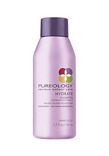 Pureology Hydrate Moisturizing Shampoo for Color Treated Hair, Sulfate-Free, 1.7 fl. oz.
