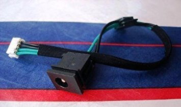 (DC Power Jack with Cable Harness For Toshiba Satellite: L355-S7915)