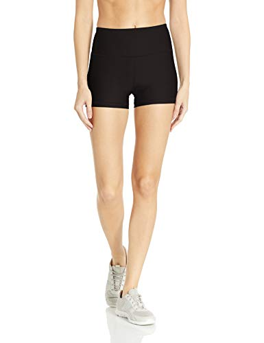 Amazon Essentials Women's Performance Active Short, Black, X-Small