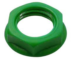 Cliff Electronic Components Cl1414 Nut, Green, 10 Pack BPSCN19861-CL1414