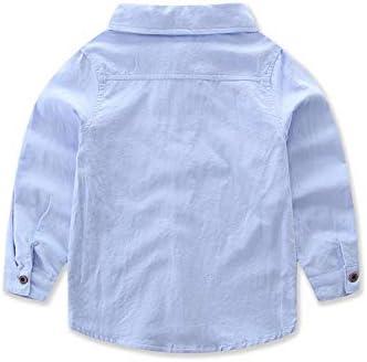 Gilet da Ceremonia Nuziale Pantaloni Carolilly Completo Elegante Bambino Ragazzo 3 Pezzi Camicia a Maniche Lunghe