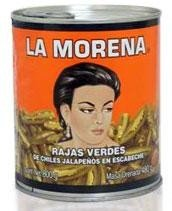 La Morena Sliced Jalapenos 27 oz