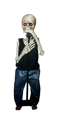 Animated Mr. Bones Halloween Singing and Dancing Skeleton (