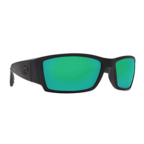Costa Del Marcosta CB01OGMGLP Corbina Sunglassesblackout Frame/Green Mirror - Costa Corbina
