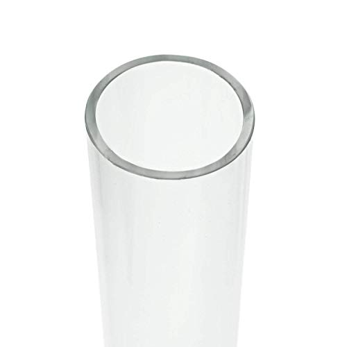 - Source One Polycarbonate Lexan Unbreakable Round Clear Tube 1/2, 1, 1 1/2 Inch Diameter (1 Inch Diameter, 48 Inch Long)