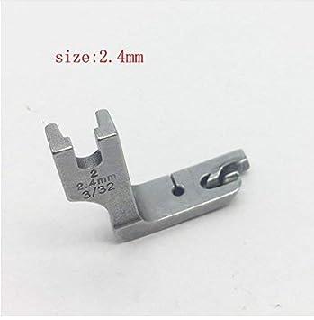 YICBOR prensatelas de costura industrial para Brother Juki Zoje Jack Máquina típica de coche plano (2,4 mm): Amazon.es: Hogar