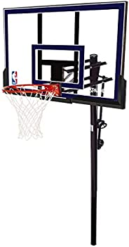 """Spalding Acrylic In-Ground Basketball System, 50"""","""