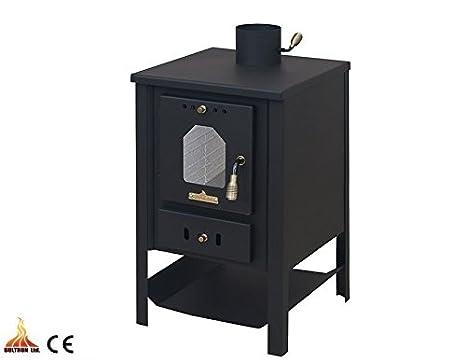 Estufa de leña 9 kW madera maciza de combustible/carbón Log burnern: Amazon.es: Bricolaje y herramientas