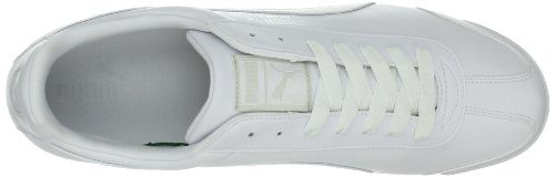 Basic Puma light White Gray Roma White Baskets teamregalRed pour mode homme qq75zU
