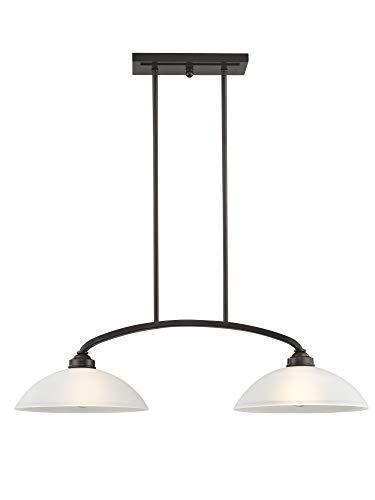 Livex Lighting 4222-92 Somerset 2 Light English Bronze Linear Chandelier,