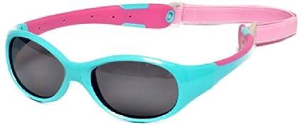 t/ürkis//rosa Flexible Passform Gr/ö/ße 4+ Real Kids 4EXPAQPKP2 Explorer P2 Polarisierte Kindersonnenbrille