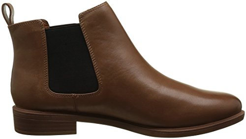 Shine Chelsea WoMen Leather Brown Boots Clarks Tan Taylor qFHxOtE