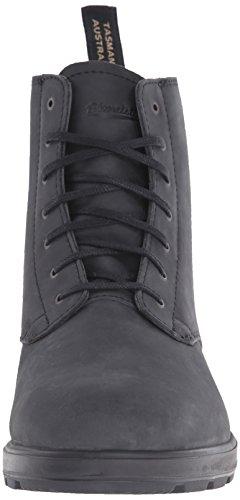 Blundstone Unisex-adult Classic Lace Up Nubuck Korte Schacht Laarzen Zwart (black)