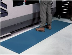 Voltage Safe Industrial Workplace Mats - ''Safety Volt Smooth'' - 2' x 3' - ESD Runner Matting by SafetyVolt Smooth