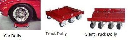 Merrick Machine M998043 16''x16'' Individual Super Duty Dolly