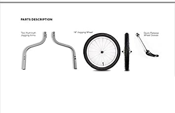 Thule Rueda para Remolque de bicicletas, aluminio, 16 pulgadas: Amazon.es: Deportes y aire libre