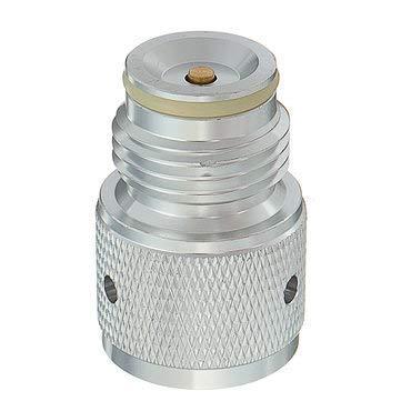 Tank Thread Adapter Paintball Inner Valve Gauge Stainless Braided Converter Portable